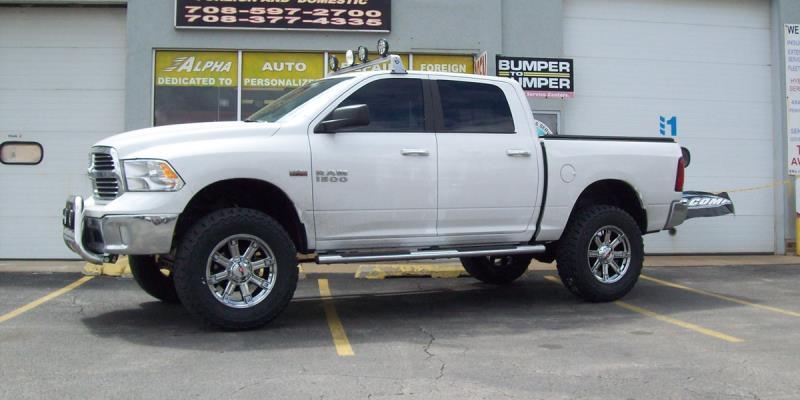 Dodge Ram 1500 WORX 806 Triton