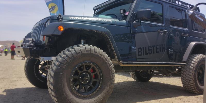 Jeep Wrangler WALKER EVANS 504 Legacy