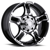 193-194 Drifter Gloss Black with Diamond Cut Accents and Clear Coat
