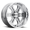 249 Predator II Chrome - 20x10
