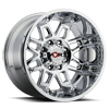811 Conquest Chrome - 20x12